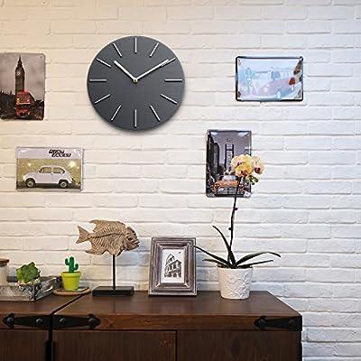 Bloom Flower Elegant Decorative Wall Clock Ideal for Living Room