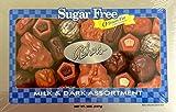Asher's Sugarfree Milk & Dark Chocolate Assortment - 8oz Gift Box