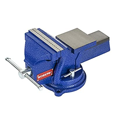 """WORKPRO 4"""" Bench Vise with Anvil from HANGZHOU GREATSTAR INDUSTRIAL CO.,LTD"""