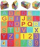 HTNBO Baby Foam Play Mat (36-Piece Set) 4.7x4.7