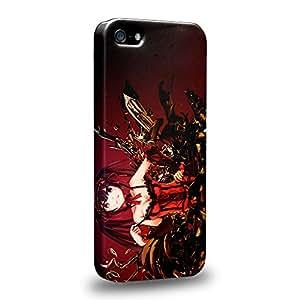 Case88 Premium Designs Date A Live Kurumi Tokisaki 1506 Carcasa/Funda dura para el Apple iPhone 5 5s