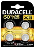 Duracell Specialty 2025 Lithium Coin Battery (Pack of 4)