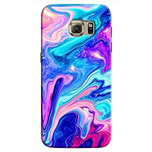 Cover it up Psydelic Dreams Samsung Galaxy S7 Hard Case - Blue