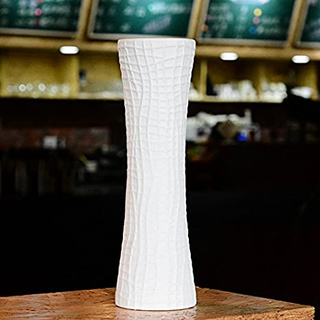 Semplice in bianco e nero di ceramica vaso, Vasi da Tavolo ...