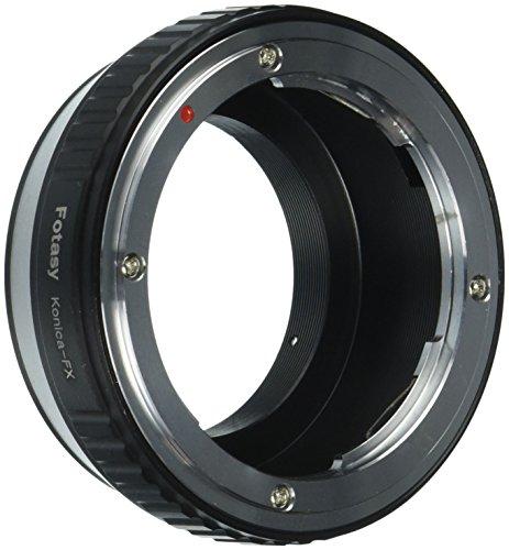 Fotasy Konica Hexanon AR lens to Fujifilm X-Mount Camera X-Pro1 X-Pro2 X-E1 X-E2 X-E2S X-M1 X-A1 X-A2 X-A3 X-A10 X-M1 X-T1 X-T2 X-T10 X-T20 Adapter Konica Mount