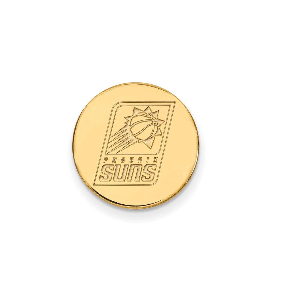NBA Phoenix Suns Lapel Pin in 14K Yellow Gold