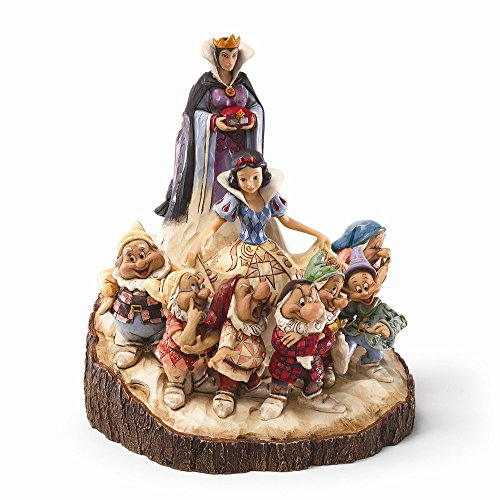 Top 10 Jewelry Gift Disney Traditions Wood Carved Snow White Figurine