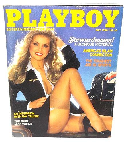 May 1980, Playboy Magazine - Vintage Men's Adult Magazine Back - Fashion 1980 Men