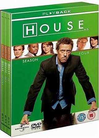 House - Season 4 - Complete [DVD]: Amazon co uk: Hugh Laurie, Lisa
