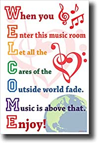 Amazon.com: Welcome - When You Enter This Music Room. New