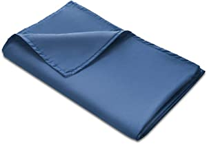 """Quility Premium Adult Removable Duvet Cover for Weighted Blanket 