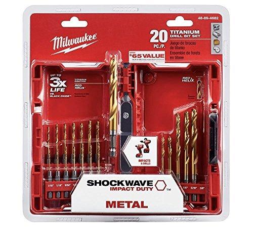 Titanium Drill Bit Set 20pc 48-89-4682