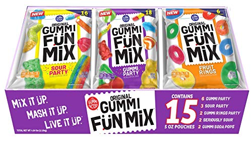 The Gummi Factory Original Fun Mix, Variety Pack, 5 oz, 15Count]()