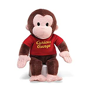 GUND Curious George Stuffed Animal Plush, 12""