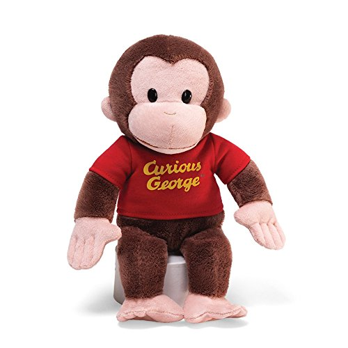 GUND Curious George Stuffed Animal Plush, -