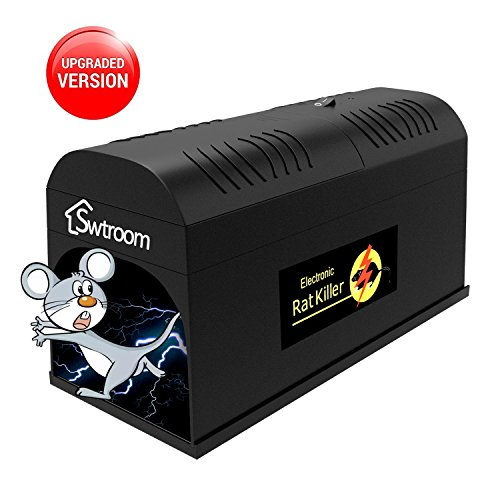 Electronic Rat Traps,High Voltage Emitting, Swtroom Mouse Traps Electronic,Effective and Powerful killer for rat ,squirrels and other similar rodents