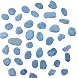 Beach Treasures Small Slate Rocks - Small Slate Rocks of Assorted Size and Shape - Flat Rocks - (about 1 to 2 inches in length) - 2 Pounds of Slate Rocks - by Capcouriers