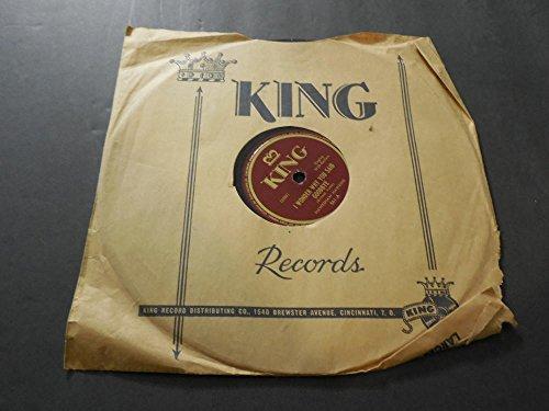 - Earnest Tubbs, I Wonder Why You Said Goodbye King 561 78 RPM Record VG+