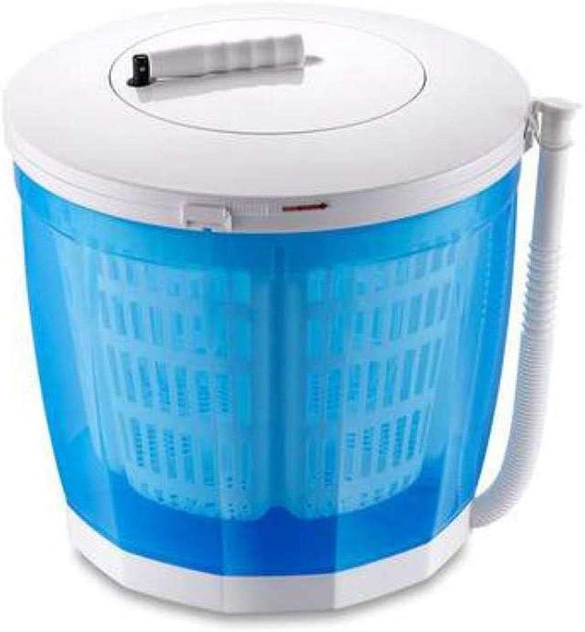 YIWANGO Lavadora De Manos Mini Pequeña Deshidratadora Manual Caja De Dormitorio La Lavadora De Barril Individual Portátil No Necesita Electricidad para Eluir Una,OrdinaryModels