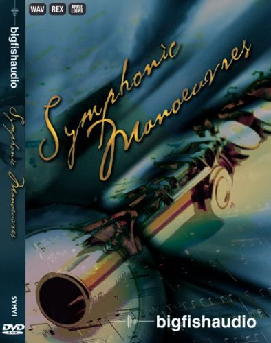 - Big Fish Audio Symphonic Manoeuvres Sample Library DVD Set