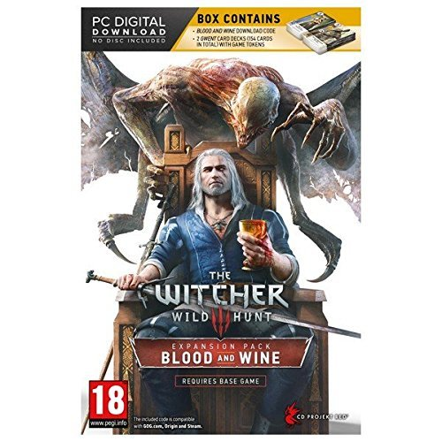 Price comparison product image The Witcher 3: Wild Hunt Blood and Wine EXPANSION Pack & 2 GWENT CARDS (DOWNLOAD) PC