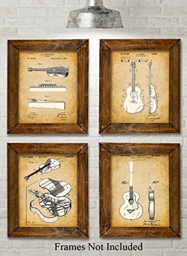 original-acoustic-guitars-patent-art-prints-set-of-four-photos-8x10-unframed-great-gift-for-guitar-p