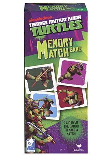 Teenage Mutant Ninja Turtles Memory Match Game - TMNT Matching Game (Ninja Board Game Card compare prices)