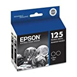 Epson DURABrite No. 125 Dual Pack Ink Cartridge - Black - Inkjet - 230 Page - 2 / Pack