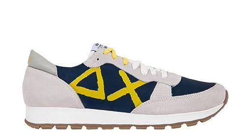 Sneakers Z18103 0731 Blue 40 Sun68 Navywhite Uomo Eu dSqwnn1E