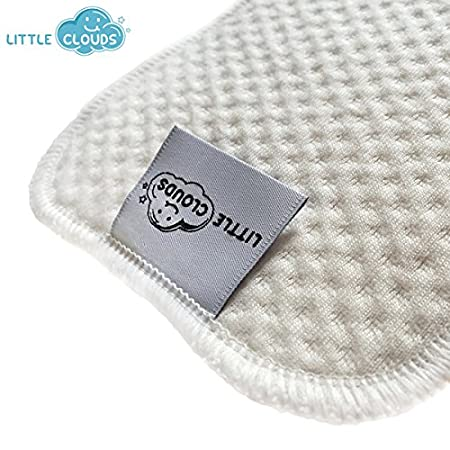 Little Clouds - zOrb iitm - Almohadillas absorbentes, - Pañales, compresas para pañales de tela, plástico pañales compresa, zOrb: Amazon.es: Bebé