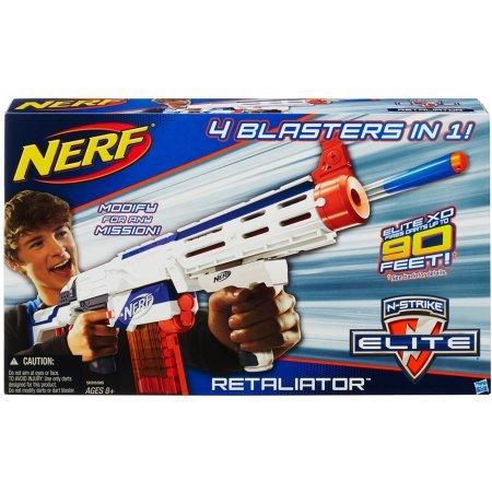 Nerf N-Strike Elite Retaliator Blaster ナーフエリートサイボーグ/リタリエーターブラスター [並行輸入品] B01LXZMVXY