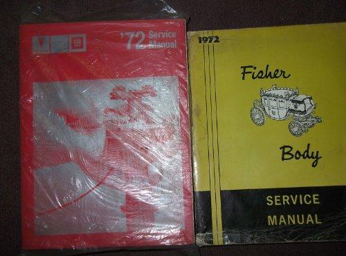 1972 Pontiac Firebird GTO Trans Am Service Manual SET (service manual, AND THE fisher body service manual.)