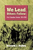 We Lead, Others Follow, Kenneth Radley, 1551251000