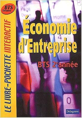 En ligne téléchargement gratuit Le Livre-Pochette interactif : Economie d'entreprise, BTS 2ème année (Manuel) pdf epub