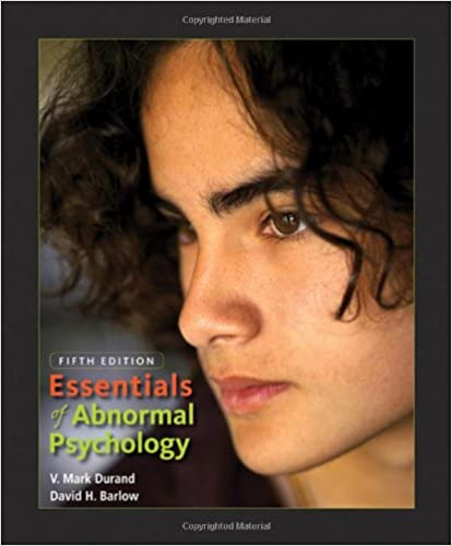 Amazon essentials of abnormal psychology with cd rom essentials of abnormal psychology with cd rom 5th edition fandeluxe Gallery