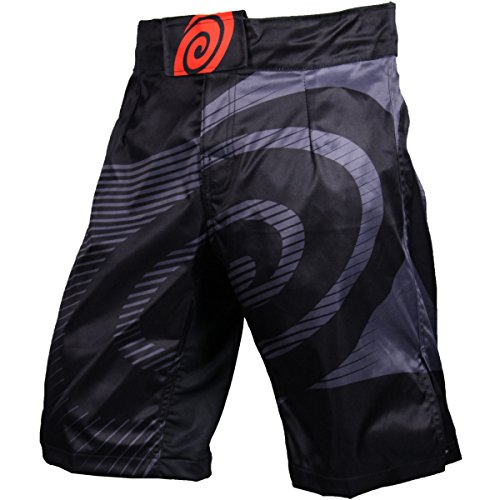 Hypnotik Dark Horizon 1.5 Fight Shorts - Black - Small