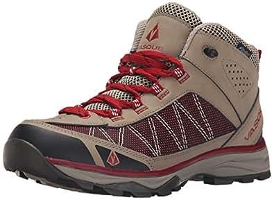 Vasque Women's Monolith Hiking Boot, Brindle/Chili Pepper, 6 M US