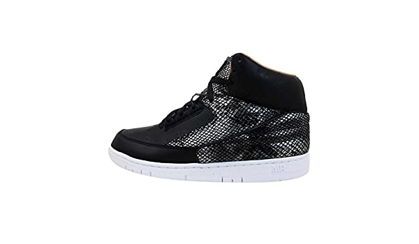 dccd3ea0ce81a NIKE Men's Air Python Premium Shoe White/Metallic Silver 705066-100 (10.5)