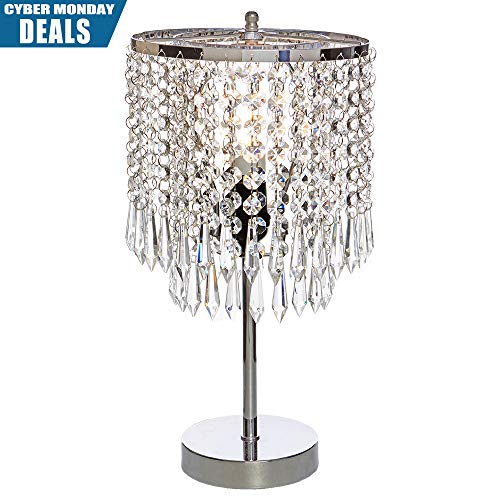 lamps for bedrooms crystal - 4