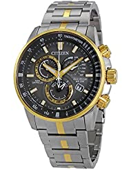 Citizen Watches  Mens AT4124-51H Eco-Drive Two-Tone One Size