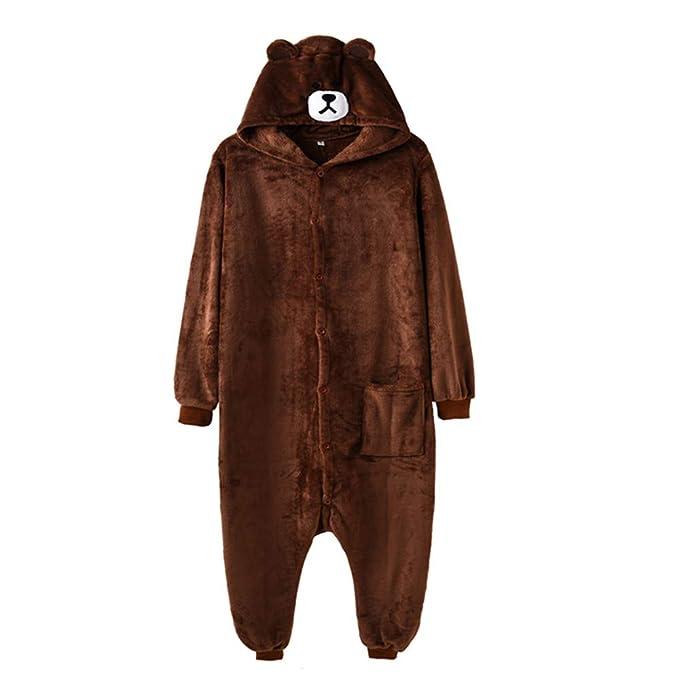 Amazon.com: Disfraz de oso marrón, para mujer, para adultos ...