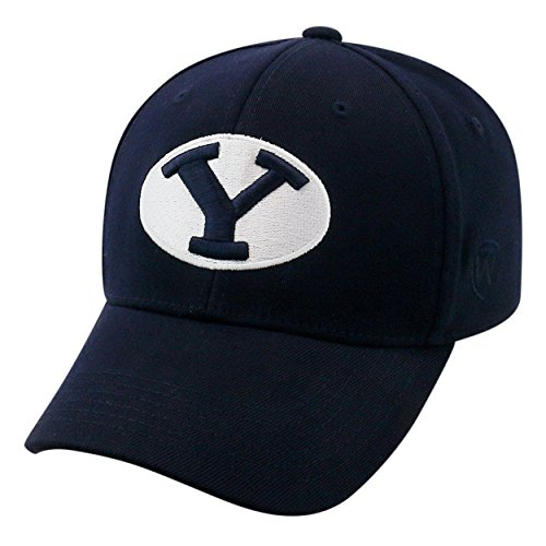 Top of the World BYU Cougars Official NCAA One Fit Large Premium Cuff Hat Cap 262116