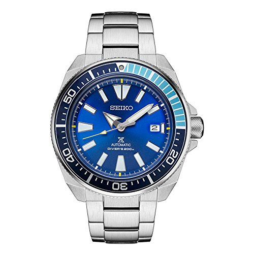 Seiko Prospex Samurai 'BLUE LAGOON' Men's Automatic Limited Edition Watch SRPB09