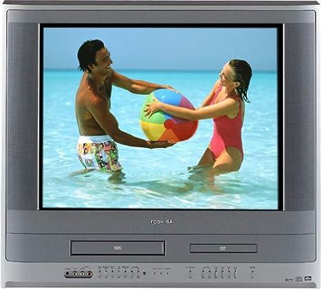 Toshiba MW20FP1 Combo de TV/DVD/VCR de 20 Pulgadas: Amazon.es ...