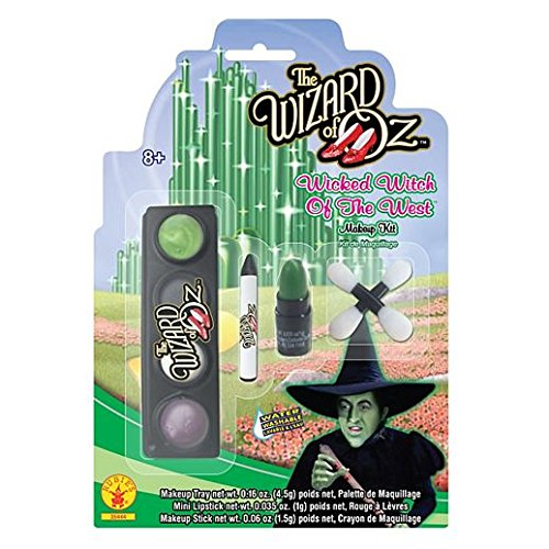 [Fancy Face Paint Color Halloween Wicked Witch Makeup Kit Wizard Of Oz] (Body Paint Costumes For Halloween)