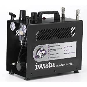 Iwata-Medea-Studio-Series-Power-Jet-Pro-Double-Piston-Air-Compressor