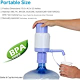 TeraPump TRPMW200 Universal Manual Drinking Water Pump, Fits Any Bottle, Excluding Glass bottle