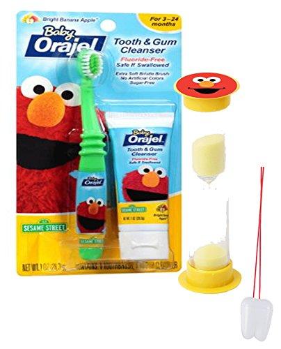 Sesame Toothbrush Training Toothpaste Brushing
