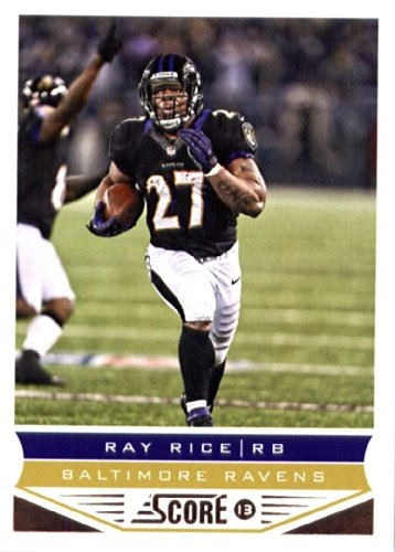 (2013 Score NFL Football Trading Card # 17 Ray Rice Baltimore Ravens)