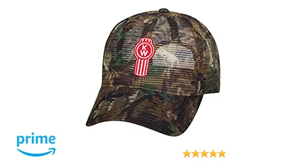 Amazon.com   Kenworth All Mesh Camouflage Camo Hat   Sports   Outdoors f2d50326536